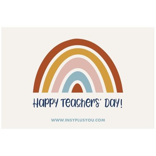 Teachers Day Greeting Card