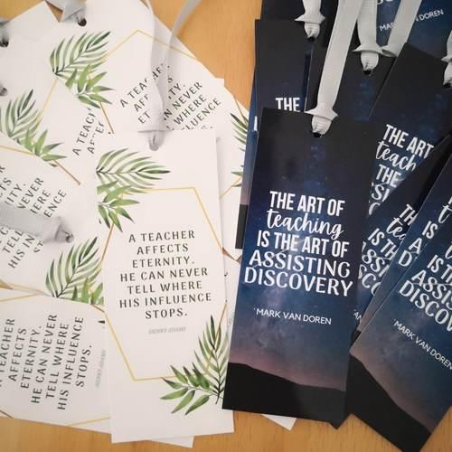 Bookmarks 4 cm x 10 cm