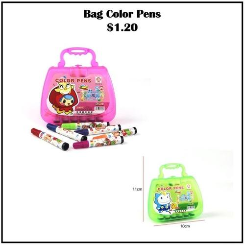 Bag Colour Pens