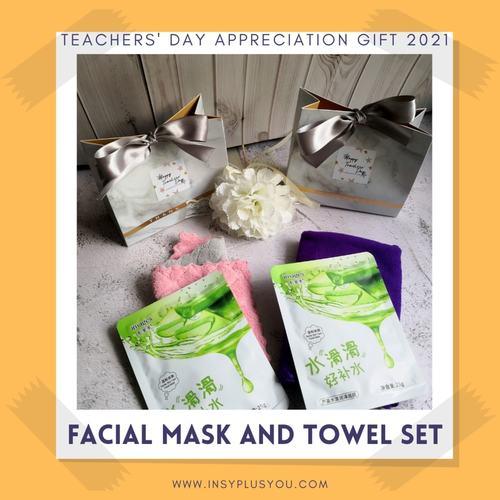 Facial Mask and Towel set