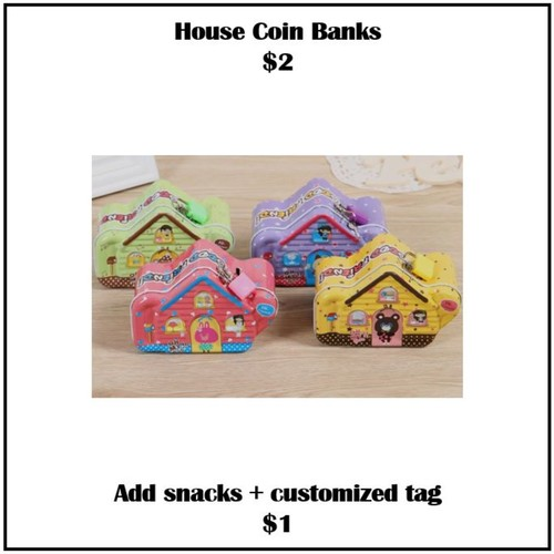 House Coin Banks