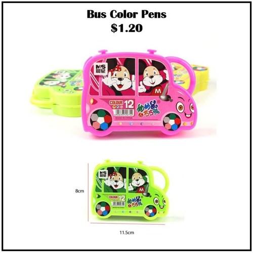 Bus Color Pens