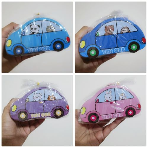 Car Coin Bank Set - with Snacks and Customized Tag