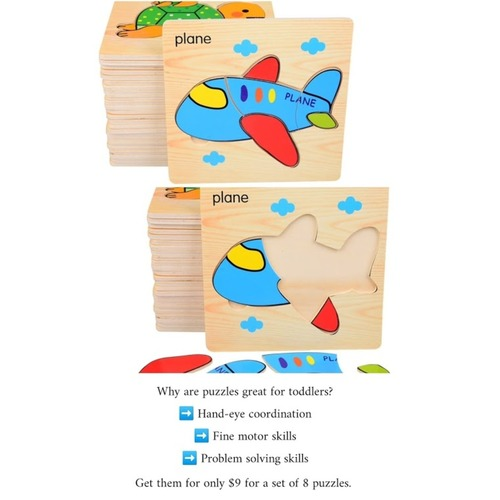 Toddler Puzzle 2 - Set of 8 pieces