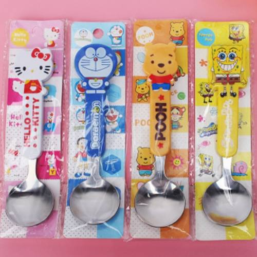 Kids Spoon set - With Cereal and Customized Tag