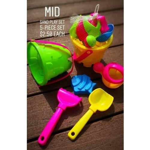 Mid Sand play set