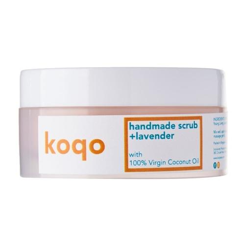 koqo Lavender & Himalayan Salt Scrub (50g)