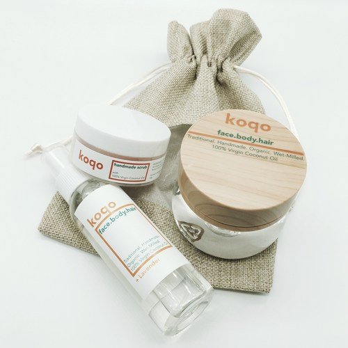 Koqo Starter Set of 3 + FREE Jute Bag