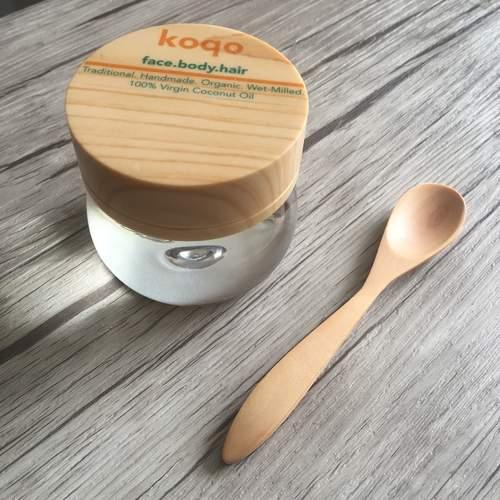Natural Handmade Sawo Wood Spoon ( 1 Piece)