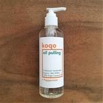 koqo Natural Mouthwash - Peppermint OIL PULLING 250ml pump
