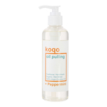 koqo Natural Mouthwash - Peppermint OIL PULLING 250ml pump