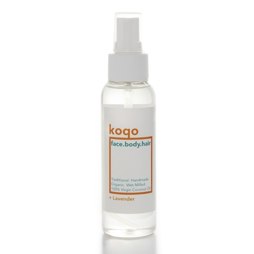 koqo face.body.hair Handmade Coconut Oil + Lavender 100ml Spray - Voted Best Hair Oil 2018-2019