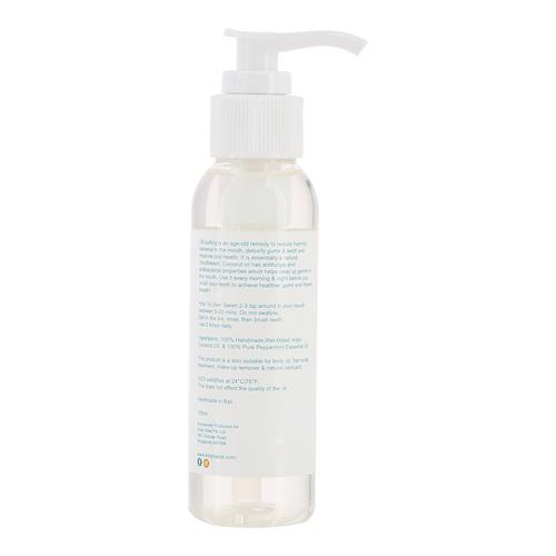 koqo Natural Mouthwash - Peppermint OIL PULLING 100ml pump