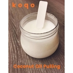 koqo Handmade & Wet-milled 100% Virgin Coconut oil (150g jar with scoop)