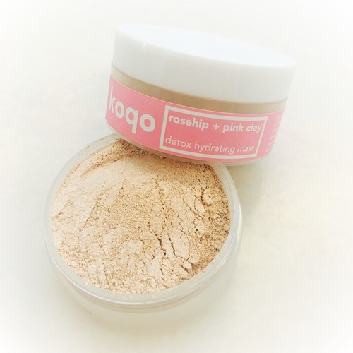 Rosehip & Pink Clay Mask (New!) - Detox & Hydrating