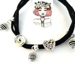 Aromatherapy lava diffuser love bracelet