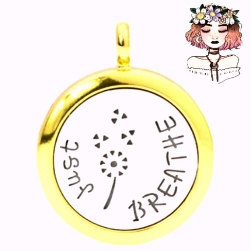 JustBreathe aromatherapy diffuser locket