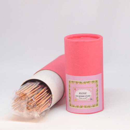 Premium Hand Rolled Incense - Rose