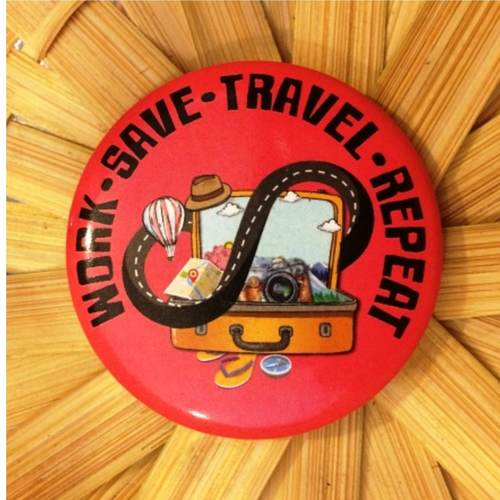 Travel Fridge Magnet