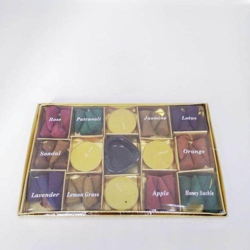 Golden Box Incense Cones