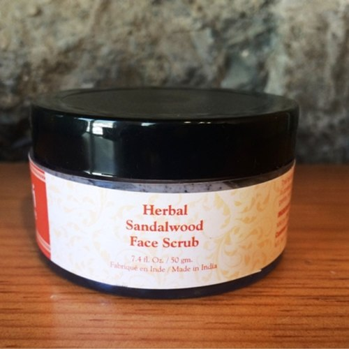TPS Herbal Sandalwood  Face Scrub 75g