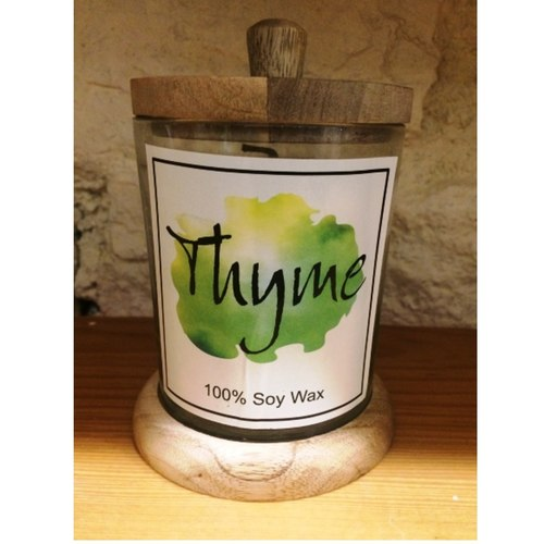 Thyme Soy Wax Candle
