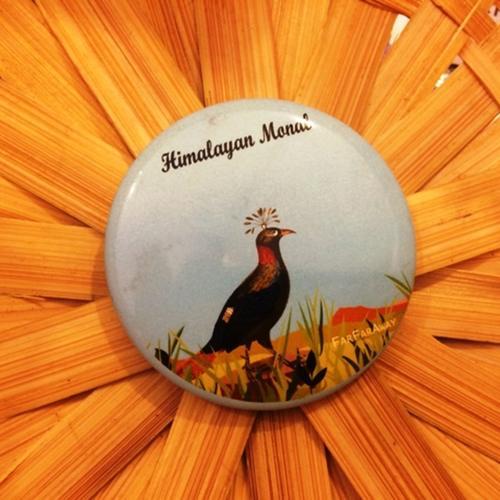 Himalayan Monal Fridge Magnet