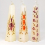 Scented Natural Flower Candles