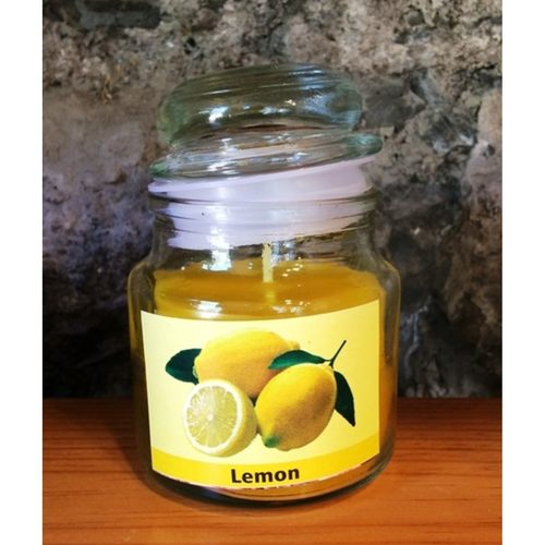 Lemon Scented Jar Candle