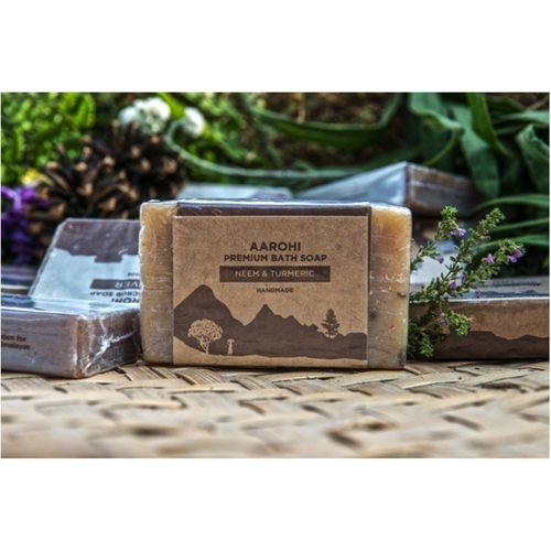 Aarohi Premium Neem & Turmeric Soap