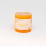 Scented Pillar Candle - Cinnamon