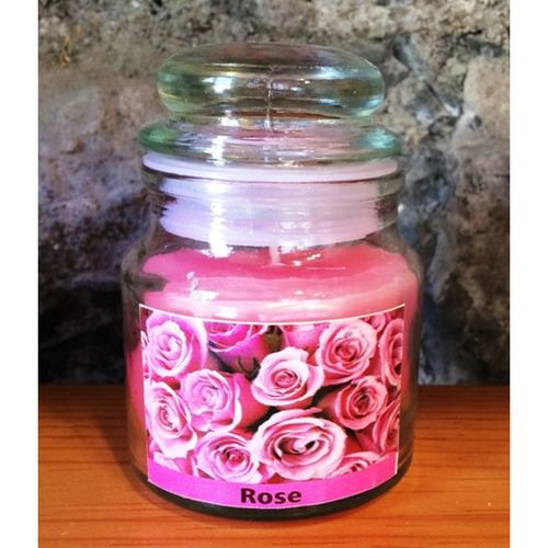 Rose Scented Jar Candle