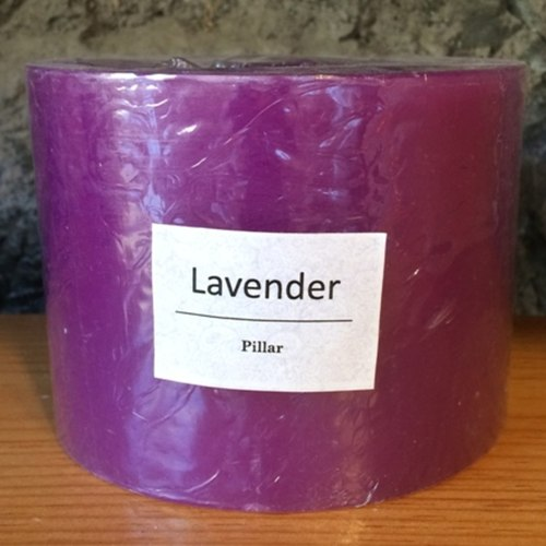 Lavender Hurricane Candle 350g