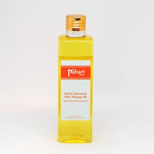 Herbal Almond & Olive Body Massage Oil 210ml