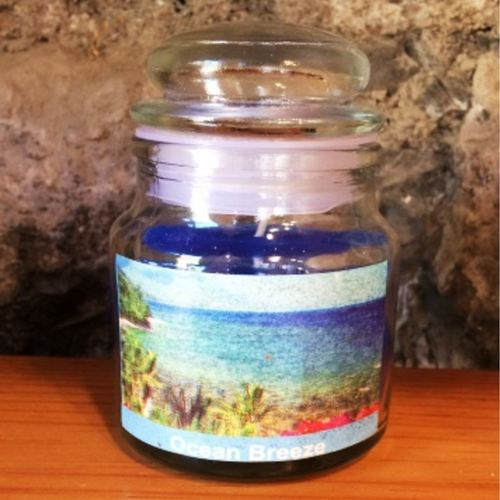 Ocean Breeze Scented Jar Candle