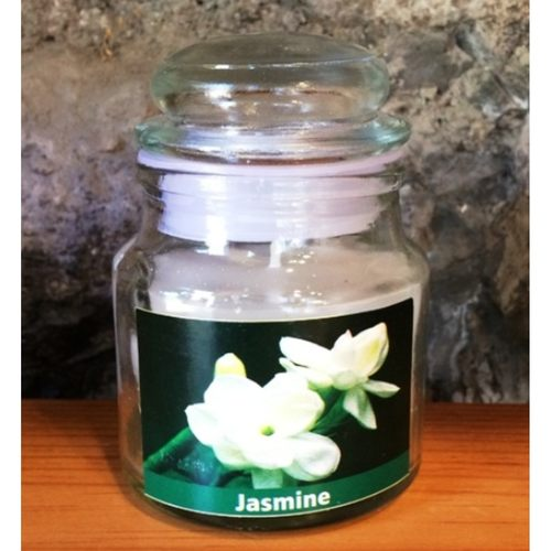 Jasmine Scented Jar Candle