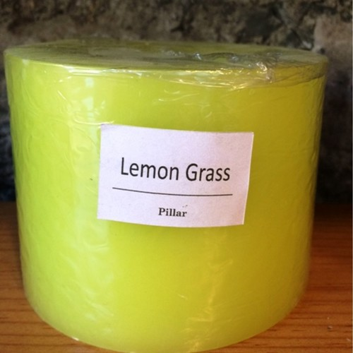 Lemongrass Hurricane Candle 350g