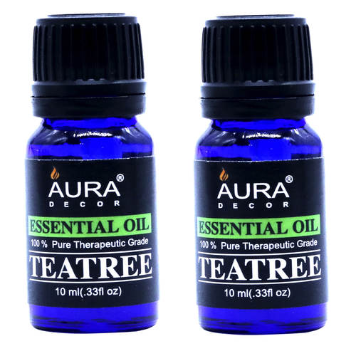 AuraDecor 100% Pure Teatree Essential Oil ( 10ml Each )