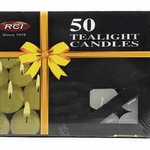 AuraDecor Unscented Tealight Candles ( Burning time 3 Hours)