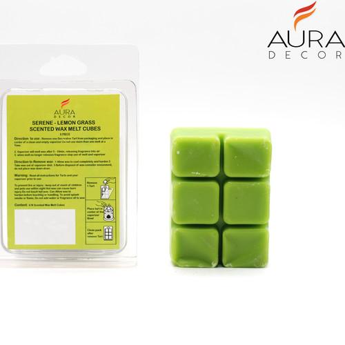 AuraDecor Aroma Wax Melts (Lemon Grass)