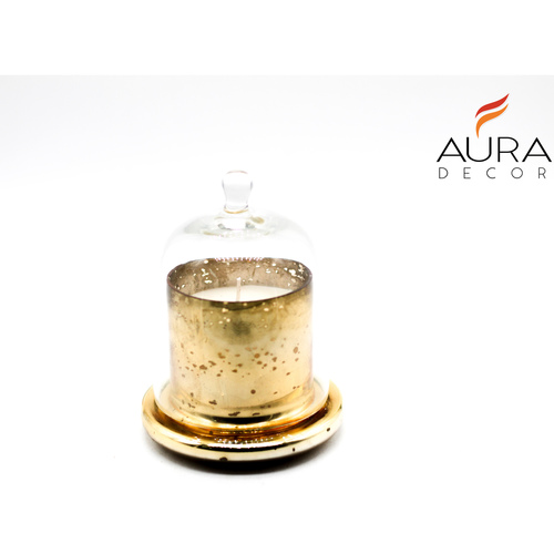 AuraDecor Christmas Bell Jar Candle in a Gift Pack