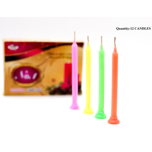 No. 1 Festive Candles Pack of 12