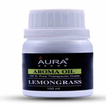 AuraDecor Undiluted  Highly Fragrance Aroma Oil for Aroma therapy ( LemonGrass) 100ml