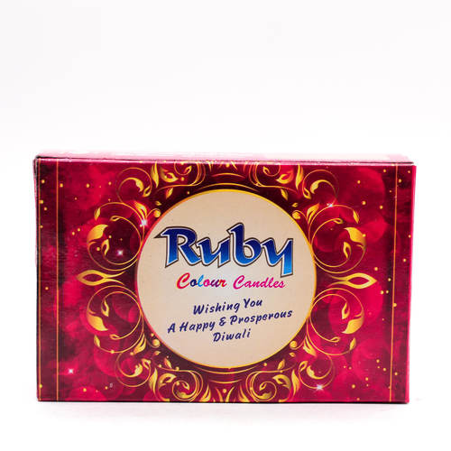 Ruby Festive Candles( Pack of 15 )