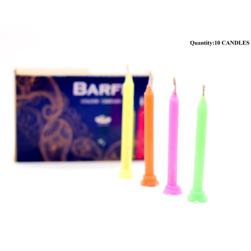 Barfi Colour Candles