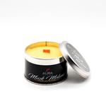 AuraDecor Wood Wick TIn Candle ( Gift Box )