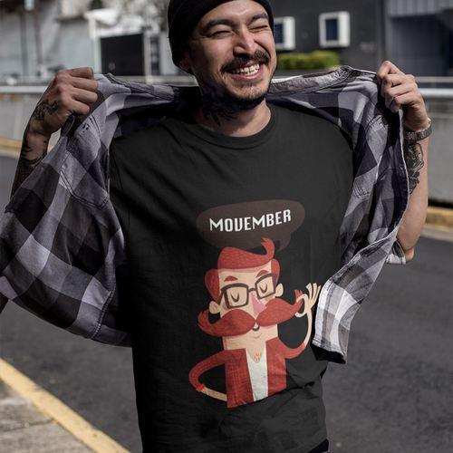 Movember Round Neck Tshirt
