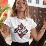 Aloha Vibes Round Neck Tshirt