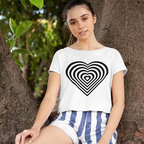 Heart Crop Top