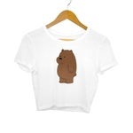 Grizzly Bear Crop Top